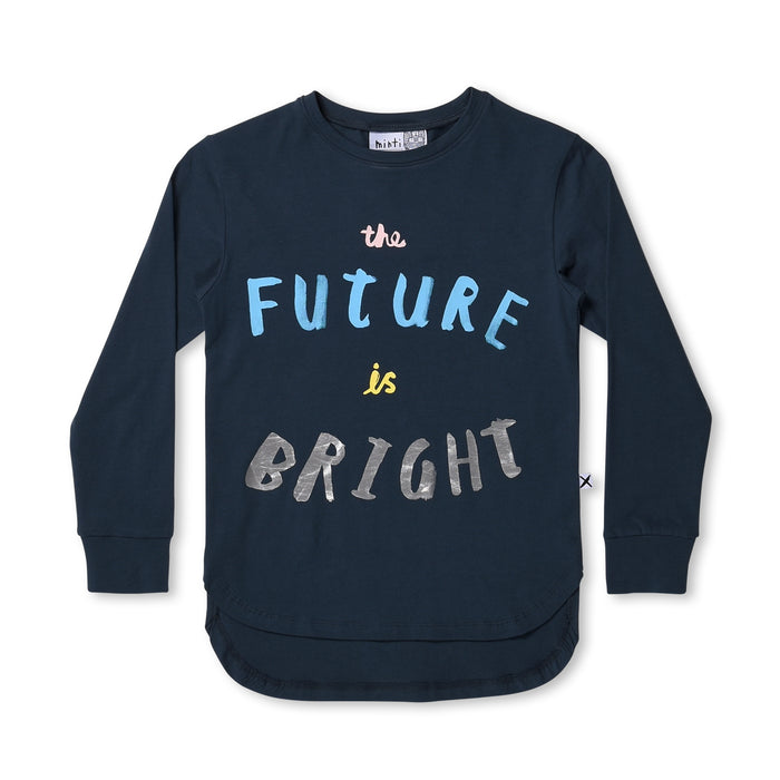 Minti The Future Is Bright Tee (Forest)