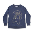 Minti Dancing Shoes Furry Crew (Midnight)