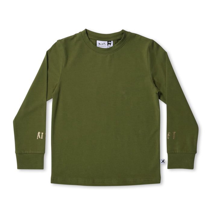 Minti Left Right Tee (Army)
