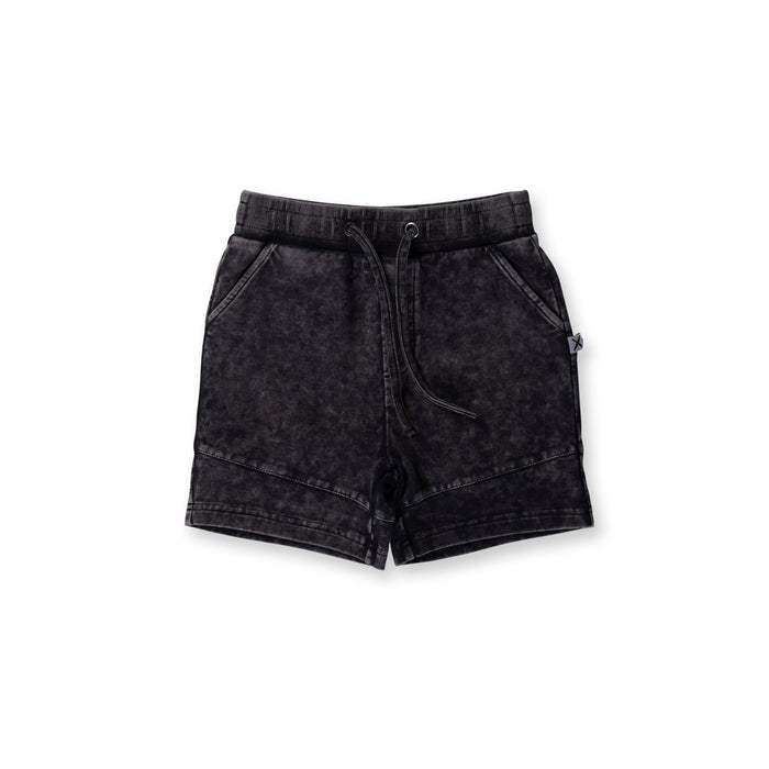 Minti Sliced Short (Black Wash)