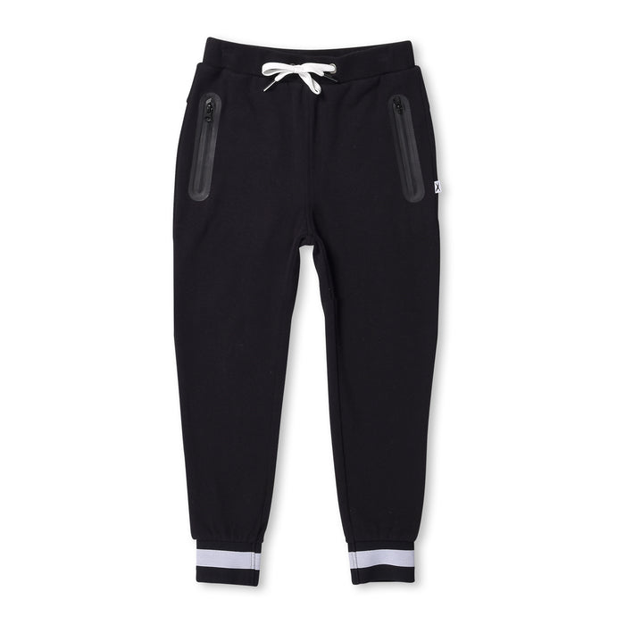 Minti Furry Sports Trackies (Black)