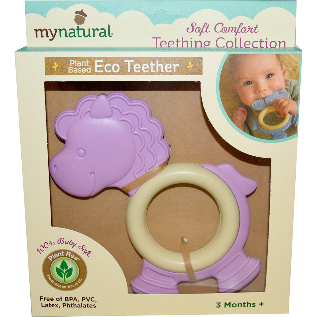 Pony Natural Teether - Purple