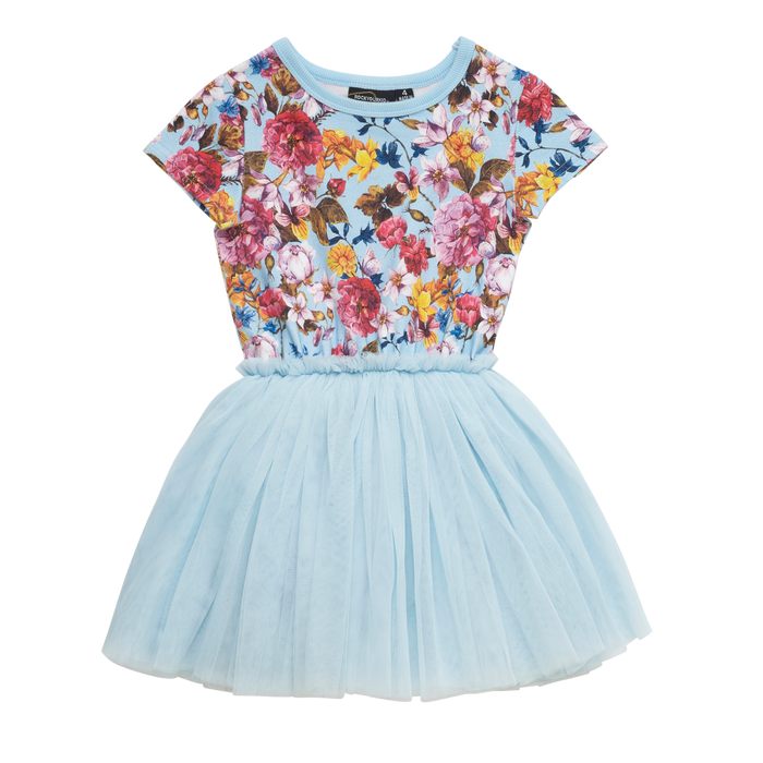Rock Your Kid Nothing But Flowers - SS Circus Dress