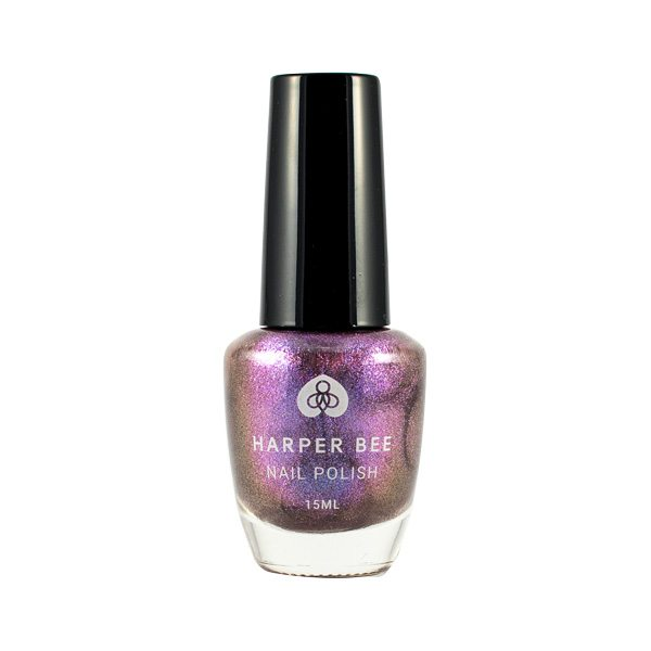 Harper Bee Nail Polish - Purple Shimmer (Unicorn Juice)