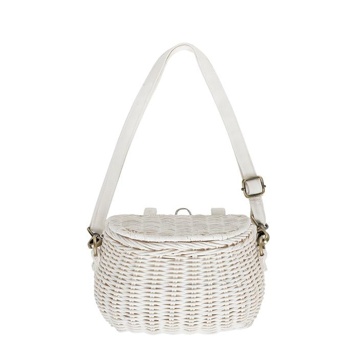 Olli Ella Minichari Bag (White)