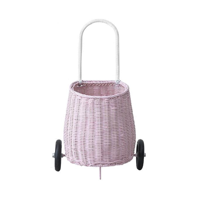 Olli Ella Luggy Basket (Pink)