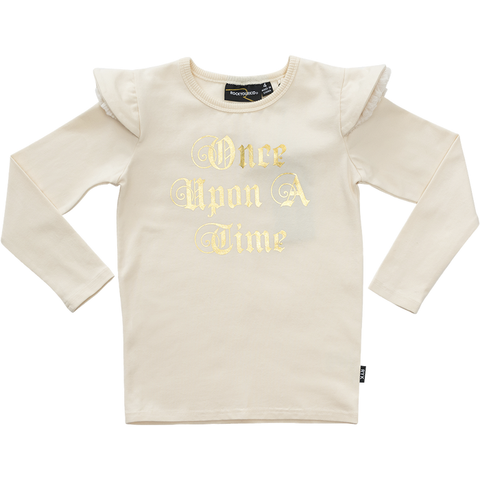 RYB Once Upon A Time LS T-Shirt (Oatmeal)