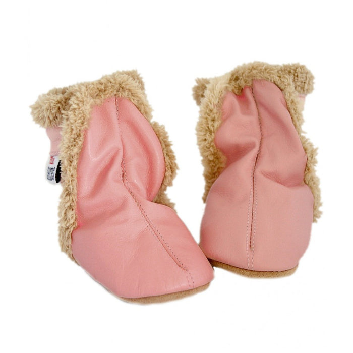 Little Circus Fur Boot (Dusky Pink)