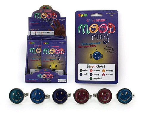 Smiley Face Mood Ring