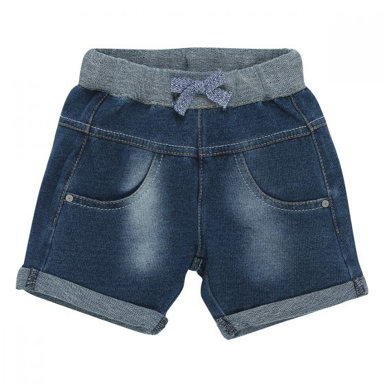 Fox & Finch French Terry Denim Short