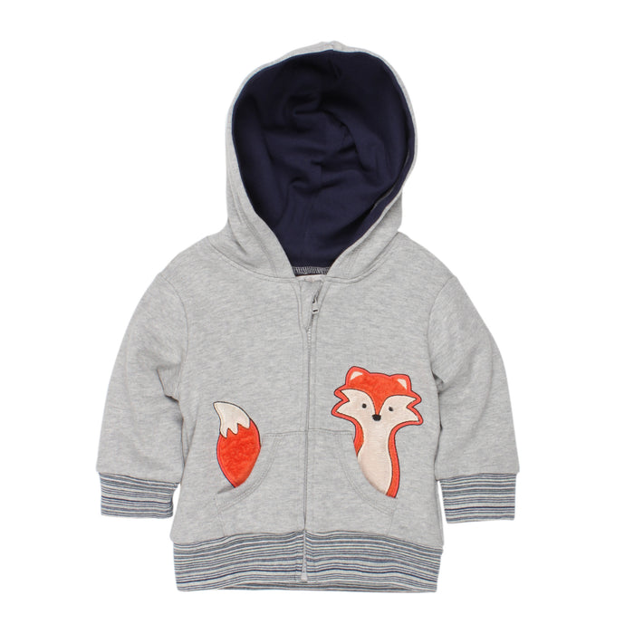 Fox & Finch Algoma Fox in Pocket Hoodie