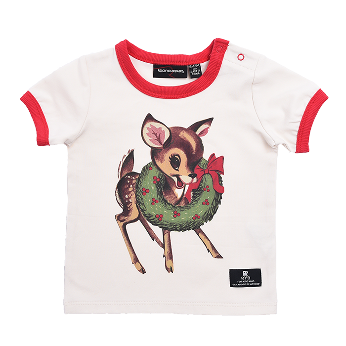 Rock Your Baby Dear Rudolph - SS T-Shirt