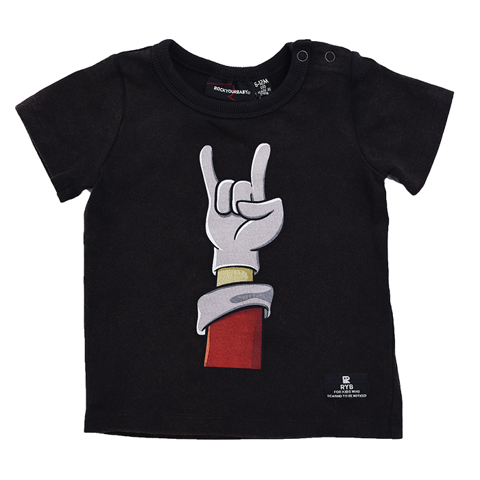 Rock Your Baby Santa Rock - SS T-Shirt