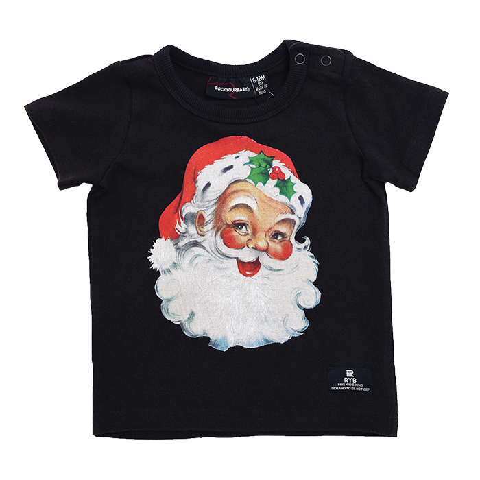 Rock Your Baby Santa - SS T-Shirt