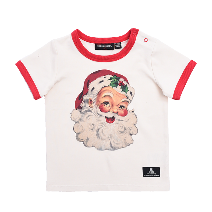 Rock Your Baby Santa's Helper - SS T-Shirt