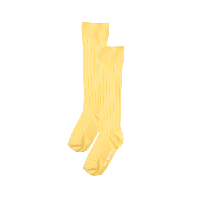 RYK Yellow Knee High Socks