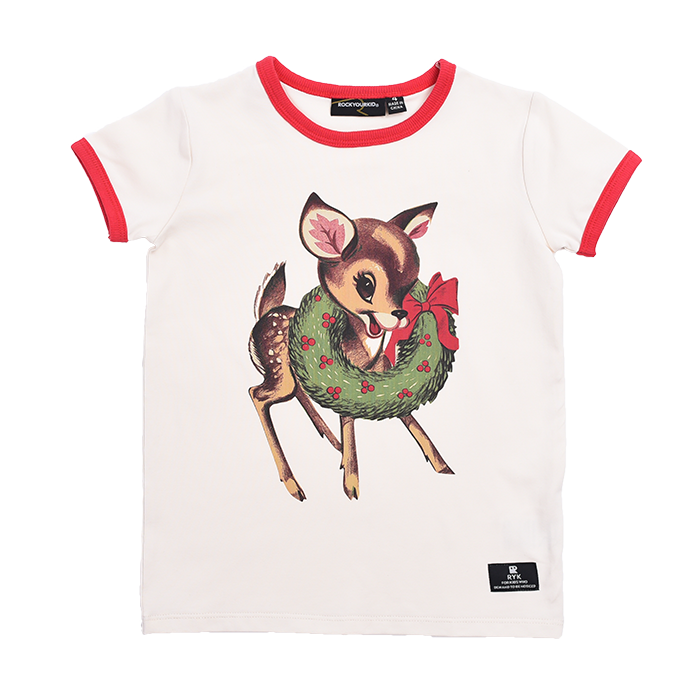 Rock Your Kid Dear Rudolph - SS T-Shirt