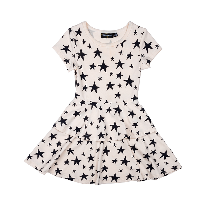 RYK Star Struck Waisted Tiered Dress