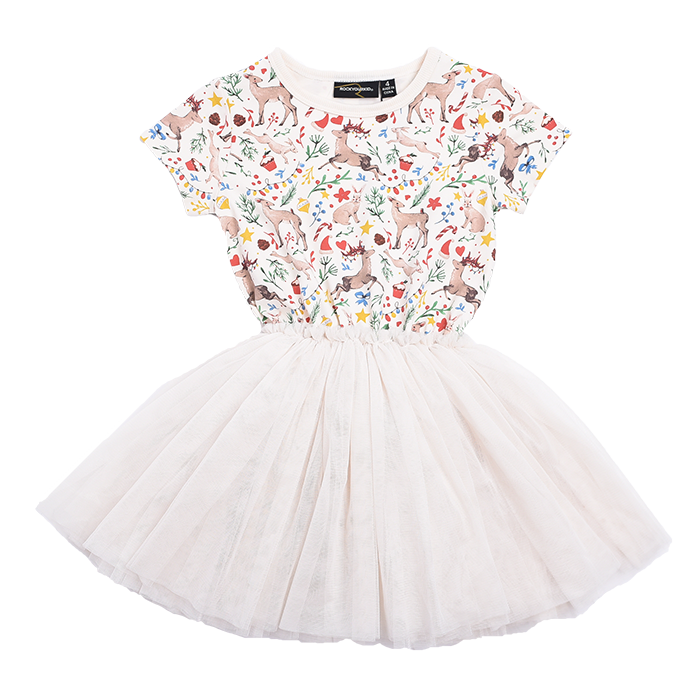 Rock Your Kid Xmas - SS Circus Dress