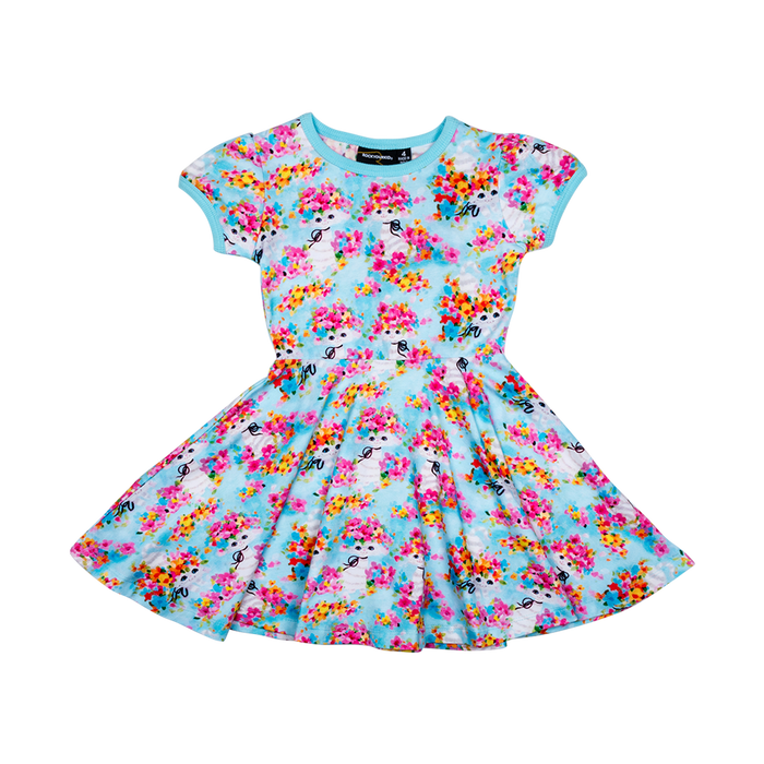 RYK Year of the Cat Waisted Dress