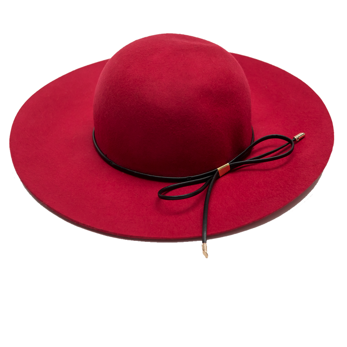 RYB Floppy Wool Hat (Red)