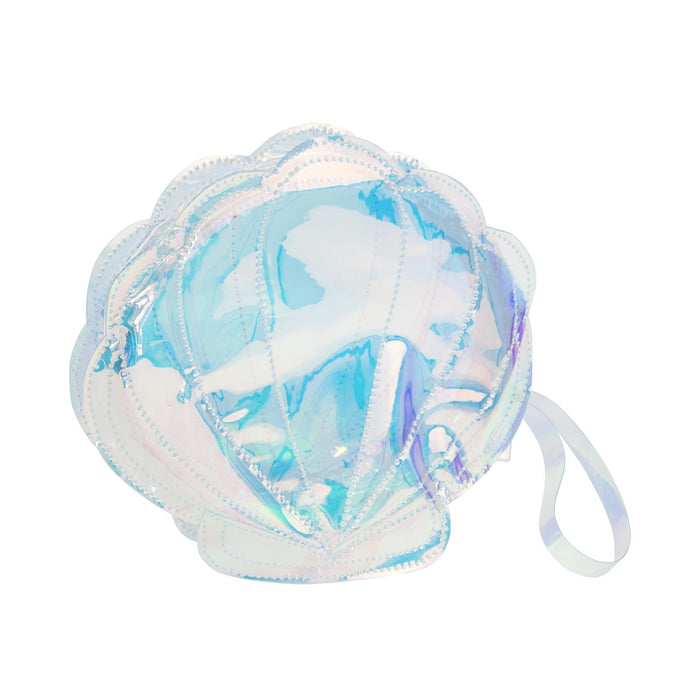 Sunnylife Shell Luxe See Thru Clutch