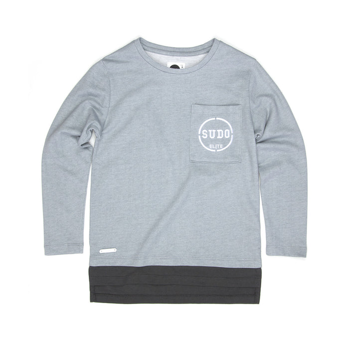 Sudo Major L/S T-Shirt (Overcast)