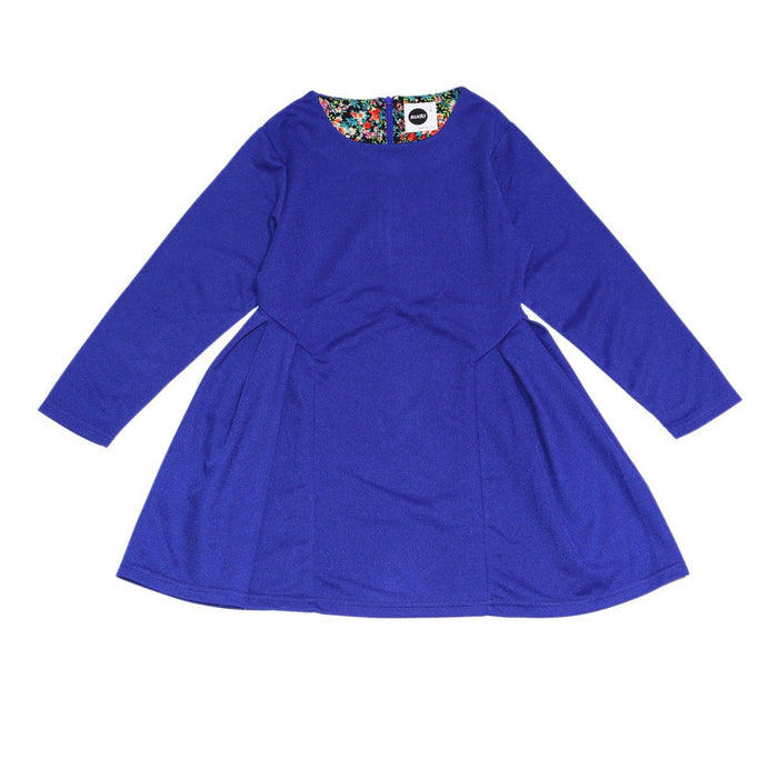 Sudo Song Bird Dress (Peacock Blue)