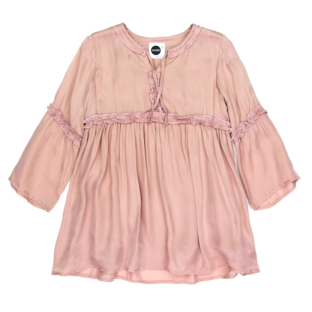 Sudo Ginger Dress Delicate Pink Kids Threads And Trends