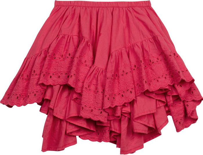 Paper Wings Frilled Lace Skirt