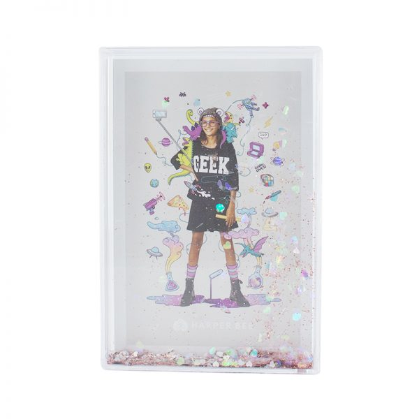 Harper Bee Sparkle Photo Frame Large - Copper