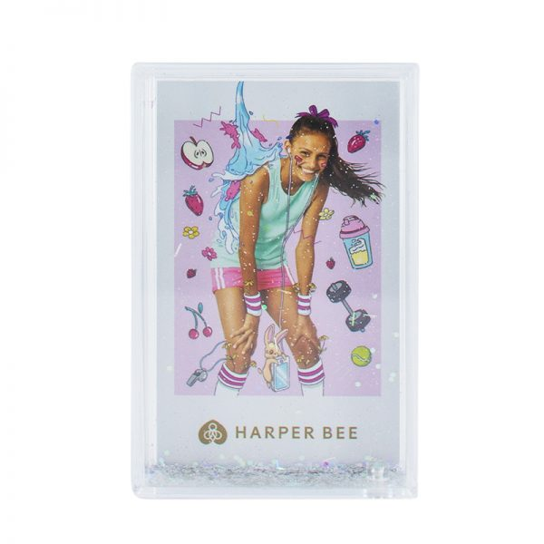 Harper Bee Sparkle Photo Frame Small - Silver