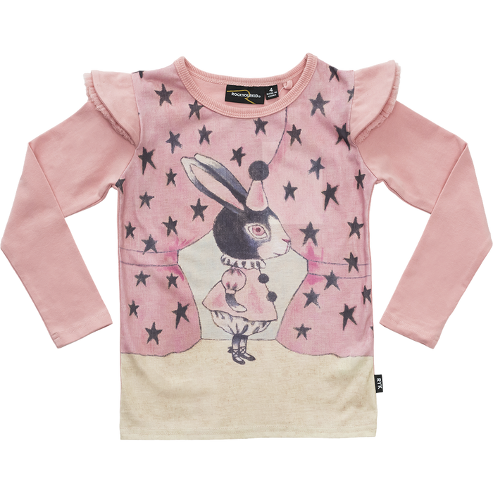RYB Stage Rabbit LS T-Shirt (Pink)