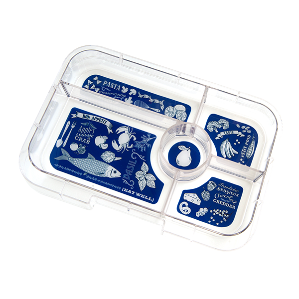 Yumbox Tapas Interchangable Tray 5 Comp.