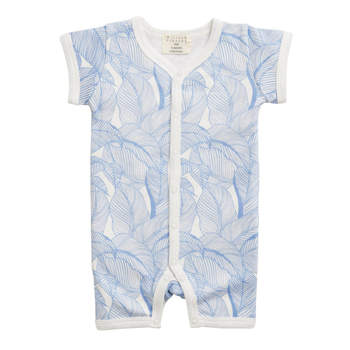 Wilson & Frenchy Blue into the Jungle short growsuit