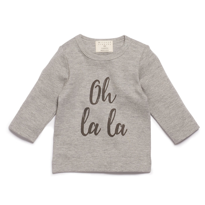 Wilson & Frenchy Oh La La Long Sleeve Top