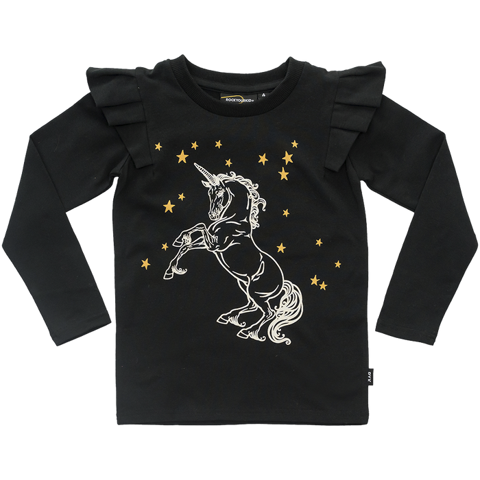 Unicorn LS T-Shirt (Black)