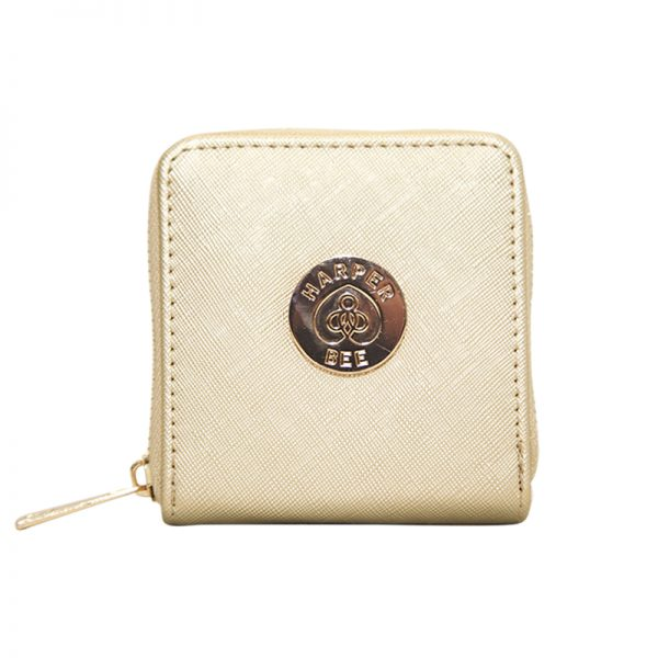 Harper Bee Wallet - Gold