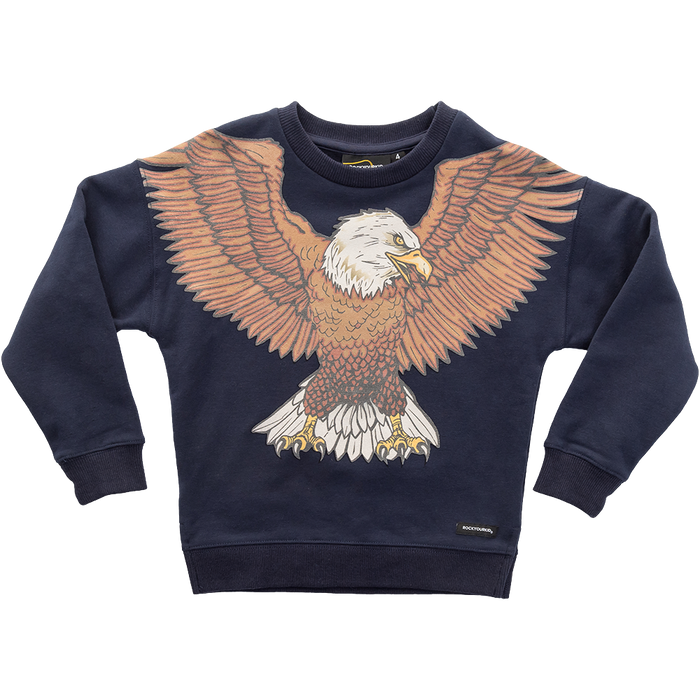 RYB Winged Eagle Sweatshirt (Navy)