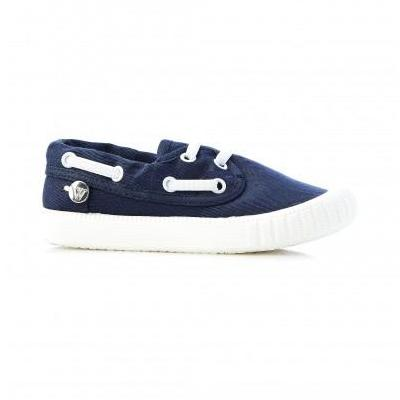 Walnut Classic Boatie (F Navy)