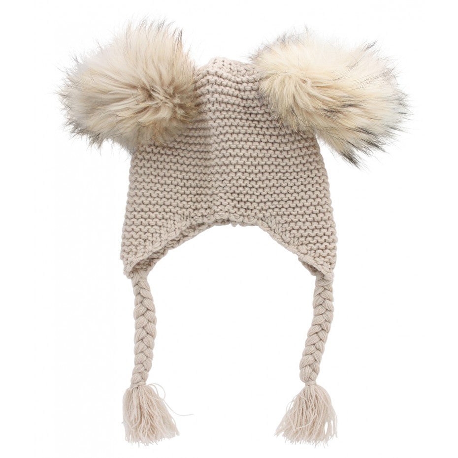 Little Circus Double Pom Pom Knit Beanie