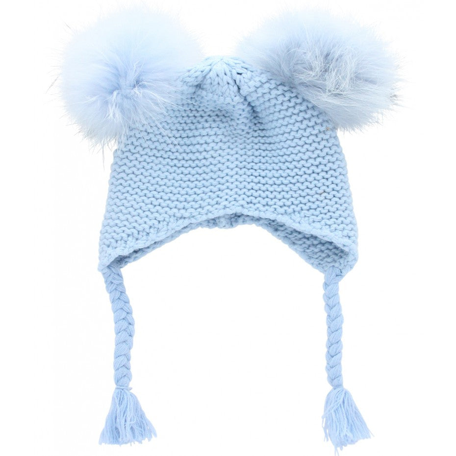 d1877251b Little Circus Double Pom Pom Knit Beanie