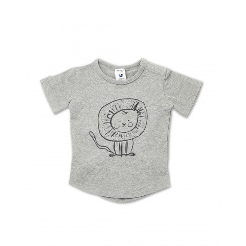 Walnut Frankie Tee (Leo Lion)