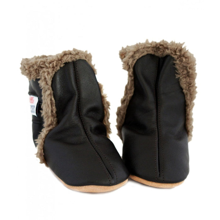 Little Circus Fur Boot (Charcoal)