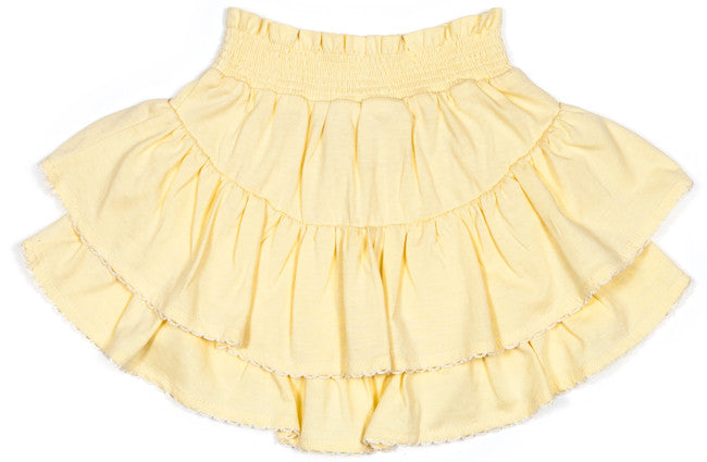 Little Wings Frilled Jersey Skirt