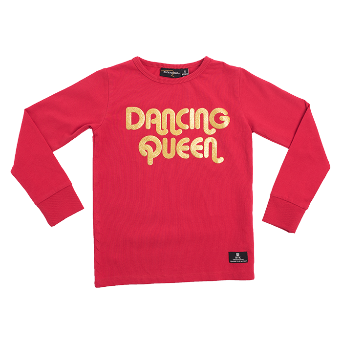 Rock Your Kid Dancing Queen LS T-Shirt