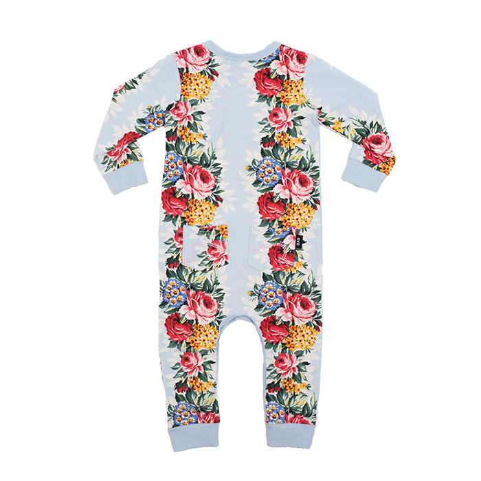 Rock Your Baby Hollywood Chintz L/S Playsuit
