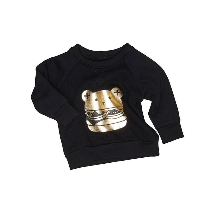 Huxbaby Huxburger Sweatshirt (Black)