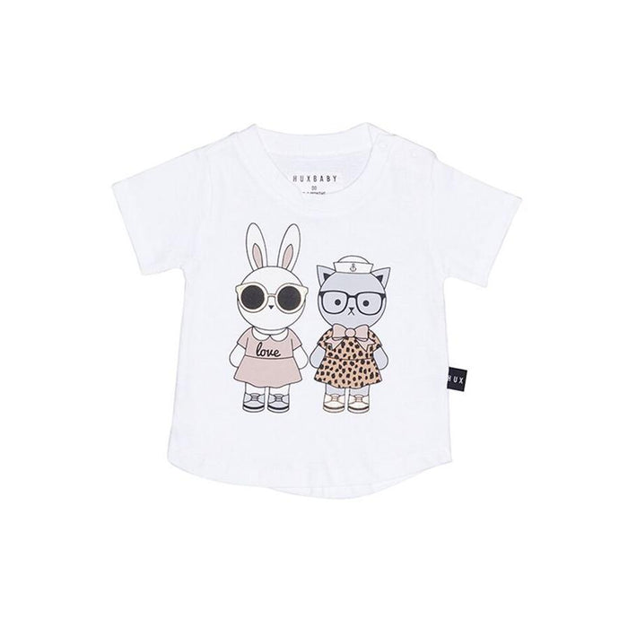 Huxbaby Friends T-shirt (White)