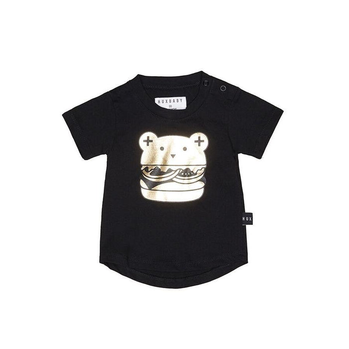 Huxbaby Huxburger T-shirt (Black)